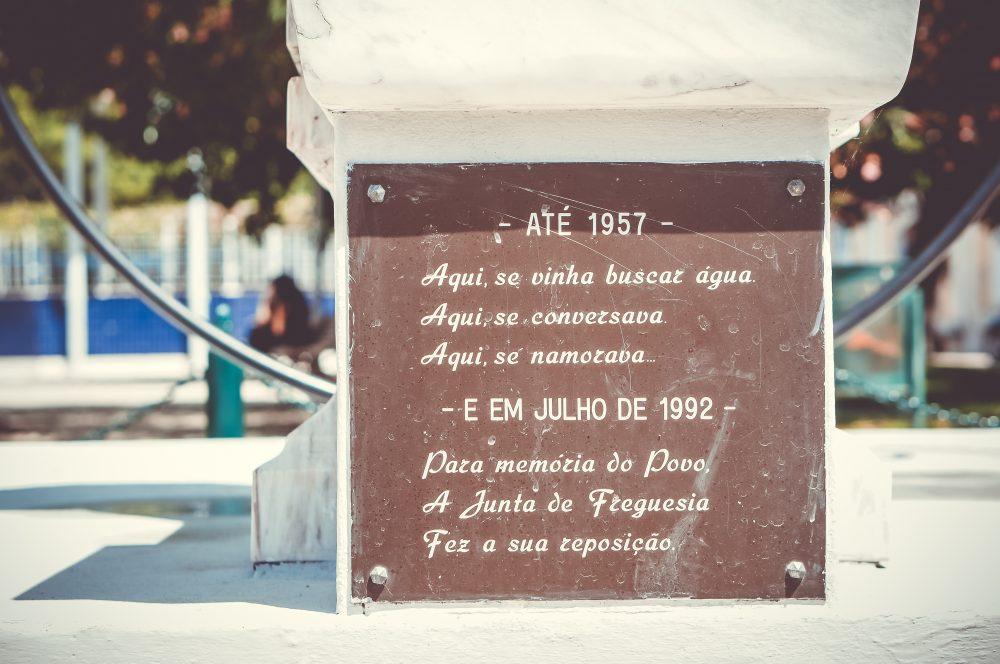 Memorial do chafariz